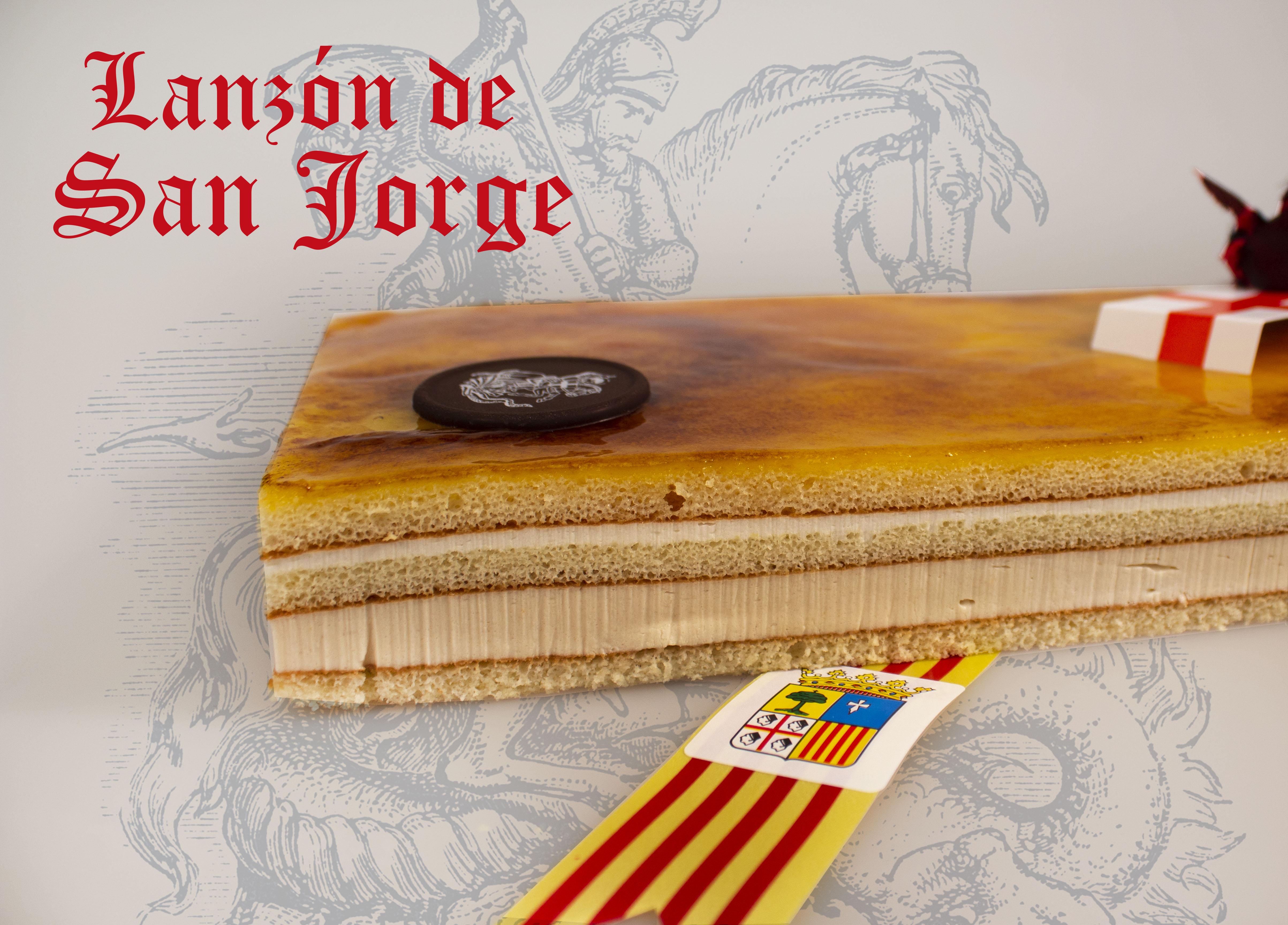 Dulce lanzón por el patrón de Aragón y Cataluña