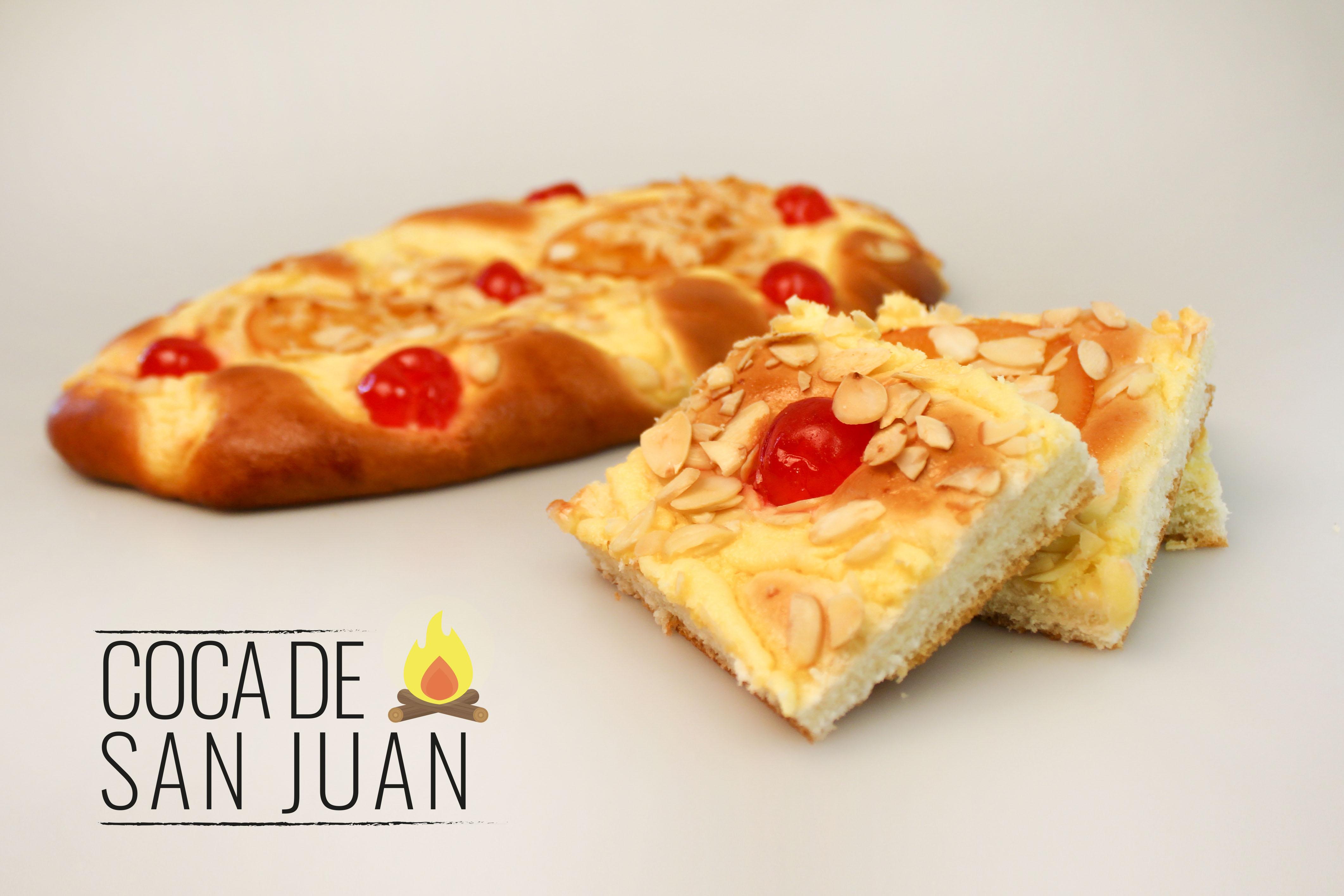 Dulce coca de San Juan elabroada por Panishop